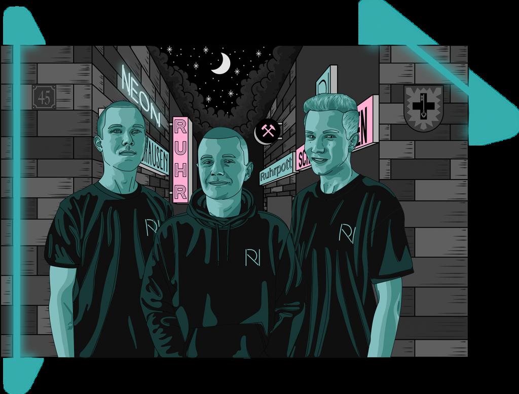 Das RE-Neon Team